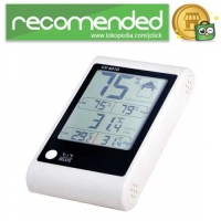 LED Weather Station Thermometer - CX-601D - Putih