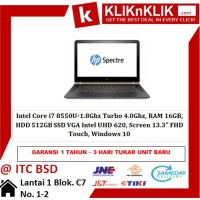 HP Spectre X360 13-ae519tu Black-Gold