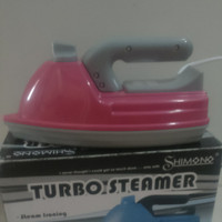 Setrika uap Shimono turbo steamer + magic ink cleaner 1 botol