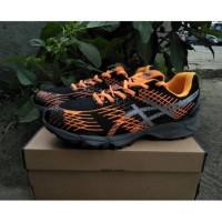 Sepatu Asics Gel Nimbus Black Orange Impor Vietnam - Sepatu Voli