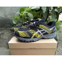Sepatu Asics Gel Nimbus Black Yellow Impor Vietnam - Sepatu Voli