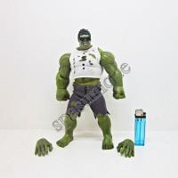 Figure Hulk Baju Putih + kacamata