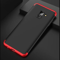 Samsung Galaxy A8 Plus 2018 6.0inch Hard Case Armor 360 GKK 3in1 Full