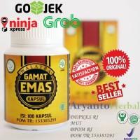 Obat Tukak Lambung 100% ASli-Ampuh-Herbal Walatra Gamat Emas Kapsul