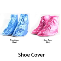 Jas Hujan Sepatu / Shoes Rain Cover Bahan PVC Waterproof + Sol pvc