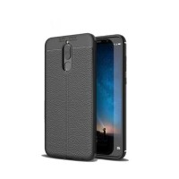 Softcase Leather Hard Soft Case Huawei Nova 2i Casing HP Kulit