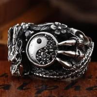 Harga Dragon Yin Yang Ring Hargano.com