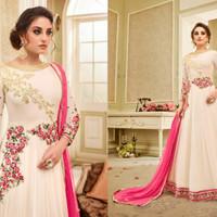 Kaia 8 Anarkali 1/Maxi Dress Gamis Pesta India/Gaun Pengantin Import