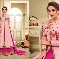 Kaia 8 Anarkali 5/Maxi Dress Gamis Pesta India/Gaun Pengantin Import