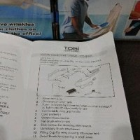 SETRIKA UAP TOBI - TOBI TRAVEL STEAMER - STEAM WAND Murah