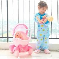 Libby Setelan Panjang  Piyama Baju Bayi Libby Sml Kecil (6-18Bulan)