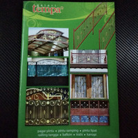 Buku katalog tralis album majalah lengkap model tempa buku besar