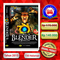THE MAGIC OF BLENDER 3D MODELLING 37 TOTAL TUTORIALS + DVD
