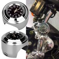 Jam Motor Jam untuk Stang Handlebar Motor Waterproof Motorcycle Clock