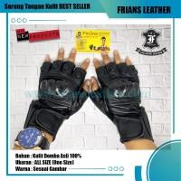 Sarung tangan kulit vixion / sarung tangan kulit asli