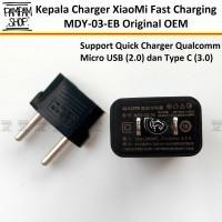 Kepala Adaptor Charger XiaoMi Fast Charging Original 2A MDY-03-EB Ori