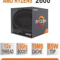 AMD Processor RYZEN 5 - 2600 BOX