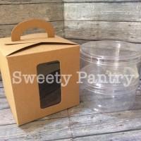 box kue kering toples 500gr / packaging / kemasan cookies lebaran