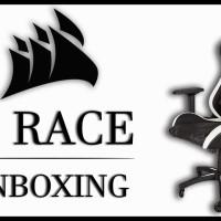 Corsair T1/T 1 Race Gaming Chair / Kursi Gaming White / Putih
