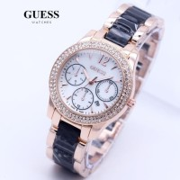 JAM TANGAN GUESS ROSE RANTAI 2037 (swiss army, rolex, AC, expedition)