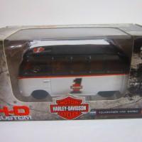 Jual Maisto HD Custom Volkswagen Van Samba (VW Harley Davidson) Murah