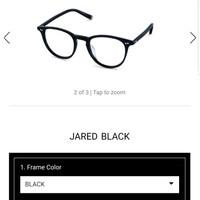 ORIGINAL KACAMATA MOSCOT Jared Black bukan lemtosh