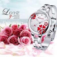jam tangan wanita perempuan anti air Original KIMIO K425 Red