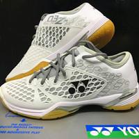 Sepatu Badminton/Bulutangkis Yonex SHB 03 ZM EX White Original New