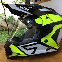 Helm Lazer TH2 Supermoto arai tour cross fly trekker airoh agv ax8 mtx