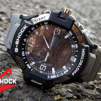 ready..!! Jam tangan sport pria g-shock duoble time water resist