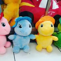 Boneka hewan/binatang kura kura kuya dg topi turtle meko with hat SNI