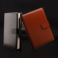 buku agenda bahan kulit leader, buku memo kerja, note book leader