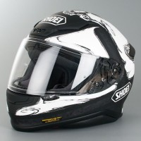 Helm Shoei Z7 Phantasm White Black TC6