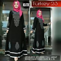 Abaya Turki kode 23