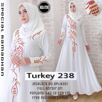 Abaya Turki free pasmina