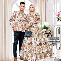 Cakrawala gamis batik couple