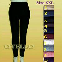 Celana Legging Leging Wanita Polos - XXL