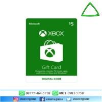 XBOX Gift Card $5 / XBOX Card USD 5 / XBOX Card US