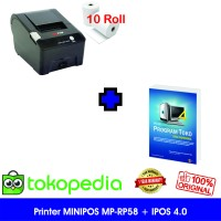 Paket Komputer Kasir Toko Murah 01| Software | Printer Kasir