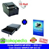 Paket Komputer Kasir Toko Murah 02| Software | Printer | Laci