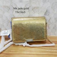 Michael kors jade gold tas asli original bag branded bag authentic bag