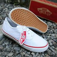 Sepatu vans authentic putih ukuran 36-40