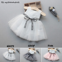 Dress bayi perempuan princess /Cute Newborn baby girl dress