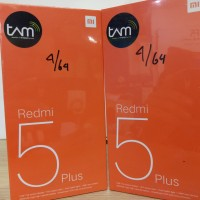 Hp Xiaomi Redmi 5 plus - Ram 4Gb Internal 64Gb Garansi Resmi