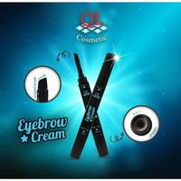 QL EYEBROW CREAM (BROWN / COKLAT)