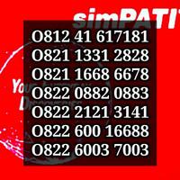 Jual Nomor Cantik Kartu Perdana Simpati Telkomsel 4G LTE Seri Rapih Terbaik Murah