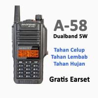 Baofeng A-58 Waterproof Dualband HT A58