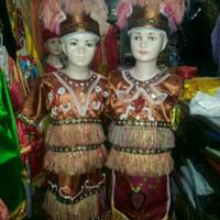 Jual Pakaian adat anak papua saten halus Lk - Pr Murah