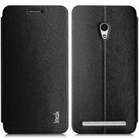 jual Imak Flip Leather Cover Case Series for Asus Zenfone 6 Black