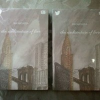 Buku novel The Architecture of Love - Ika Natassa